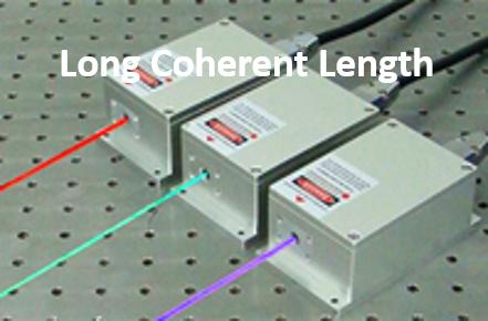 لیزر دیودی (با طول همدوسی بالا) سری  MDL-C